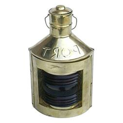 Armor Venue Port  Ship Lantern with Oil Lamp Outdoor Camping