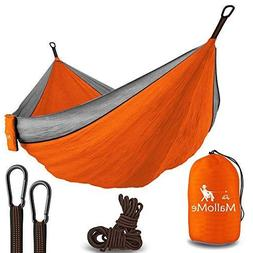 Double & Single Portable Camping Hammock - Parachute Lightwe