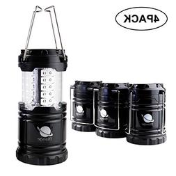 Biange Portable Outdoor LED Camping Lantern 4 Pack - Camping