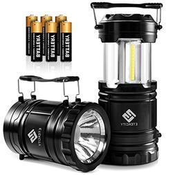 Etekcity Portable LED Camping Lantern and Flashlight with AA