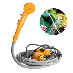 Leegoal Portable Shower Head, Handheld Rechargeable Camping