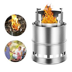 Ezyoutdoor Portable Camping Stove for 2-3 People Detachable