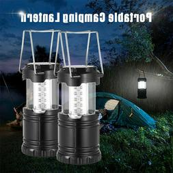 Portable Collapsible Tent LED Light Lamp Fan Camping Hiking