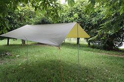 Waterproof Survival Tarp Shelter Portable Lightweight Suitab