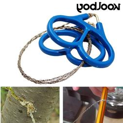 Portable Outdoor Plastic Steel Wire Saw Ring Scroll Travel <