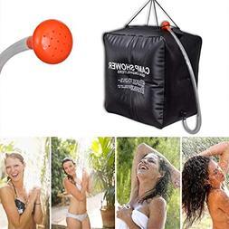 Dreamyth 40L Portable Solar Heated Shower Water Bathing Bag