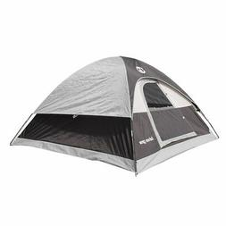 Tahoe Gear Powell 3-Person 3-Season Dome Camping Tent, Black