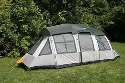 Tahoe Gear Prescott 12-Person 3-Season Tent, Blue/White | TG