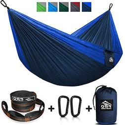 proventure double camping hammock straps