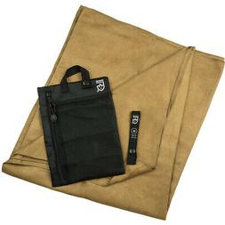 Gear Aid Quick Dry Microfiber Travel Towel - Mocha