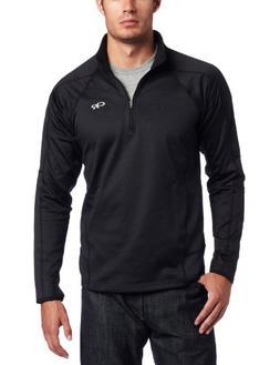 Outdoor Research Men's Radiant LT Zip Top, Black, Large