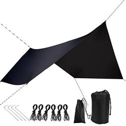 Rain Fly Tarp – by DUTY STRONG – Waterproof Tarp Camping