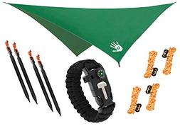 RainFlyEVOLUTION 10 x 10 ft Hammock Waterproof RAIN Fly Tent