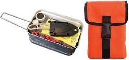 ESEE Randall Orange Survival Camping Prepper Gear Large Kit