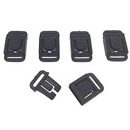 Ravenox 3/8-Inch Center Release Flat Buckle   Paracord Clips