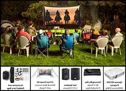 Recreation Series Complete Theater Kit! 15' Front and Rear P