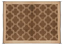 Camco Large Reversible Outdoor Patio Mat - Mold and Mildew R