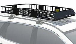 Leader Accessories Roof Rack Cargo Basket With 250 LB Capaci