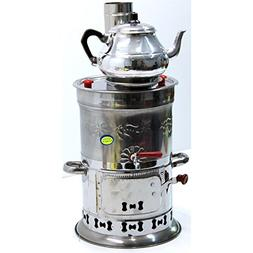 Samovar Free Energy Water Heater TEAPOT INCLUDED 4l /150 Oz