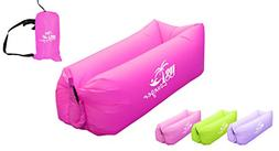 US Lounger Scarlet Fast Inflatable Portable Outdoor or Indoo