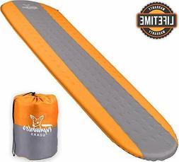 TRIPHUNTER GEARS Self Inflating Sleeping Pad Camping Backpac