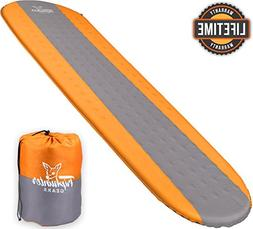 Self Inflating Sleeping Pad Lightweight - Compact Foam Paddi