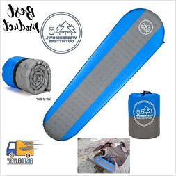 self inflating sleeping pad lightweight