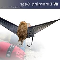Serac  Sequoia XL Wide Camping Hammock with Ultralight Ripst