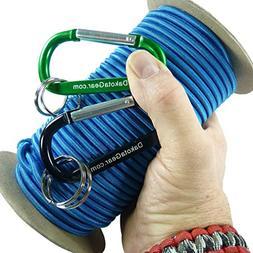 "Shock Cord - ROYAL BLUE 3/16"" x 25 ft. Spool. Marine Grade"
