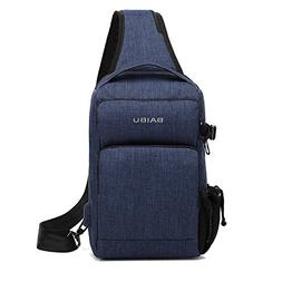 Small Shoulder Sling Backpack with USB Charging Port Busines