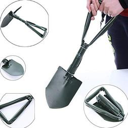 Shovel w/ Folding Handle Suitable For Camping and Snow Shove
