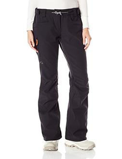 Oakley Women's Silver Queen Softshell Pants, X-Large, Jet Bl