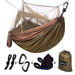 single double camping hammock
