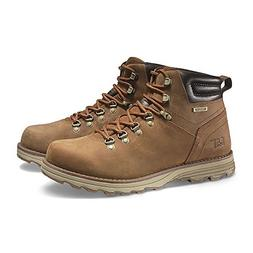 Caterpillar Mens sire Waterproof Brown Sugar Boot - 7.5 M