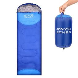 CampFENSE Sleeping Bag Lightweight Portable Compact Backpack