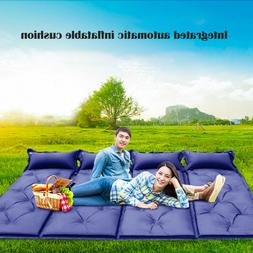 Sleeping Pad Self Inflate Mattress Bed for Camping Hiking Ou