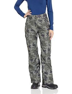 Arctix Women's Snowsport Cargo Pants, Medium, Green Camo