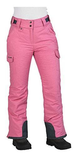 Arctix Women's Snowsport Cargo Pants, X-Large, Pink Rose