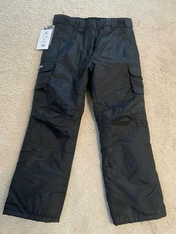 Arctix 1540 Youth Cargo Ski Pants, X-Large, Black
