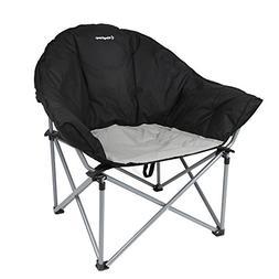 KingCamp Sofa Camping Chair Moon Saucer Oversized Padded Fol
