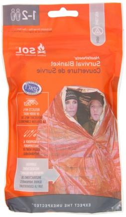 Adventure Medical Kits Sol Survival Blanket, Two Person, 3.2