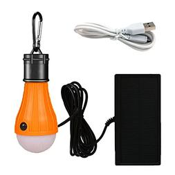 Viewpick Solar Lights LED Lantern Tent Light Bulb 3 Modes Ba