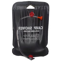 TOOGOO Solar Shower Camp Shower Bag 20 liters black
