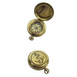 Solid Brass Dalvey Compass Anchor Design Outdoor Camping Gea