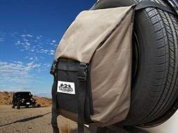 Spare Tire Trash and Gear Bag w/Seat Organizer - for Jeep/SU