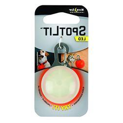 Nite Ize SLG-06-10 SpotLit Clip-On LED Light with Carabiner,
