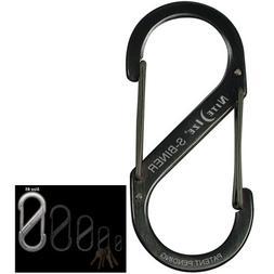 Nite Ize Stainless Steel Black #5 S Biner SB5-03-01