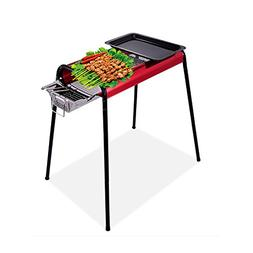 Sondre 23x 11inches Stainless Steel Charcoal Barbecue Grill,