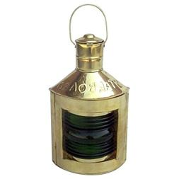 Armor Venue Starboard  Ship Lantern with Oil Lamp Outdoor Ca