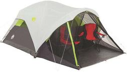Coleman Steel Creek Fast Pitch Dome Tent With Screen Room, 6